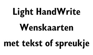 Light HandWrite (4801-4824)