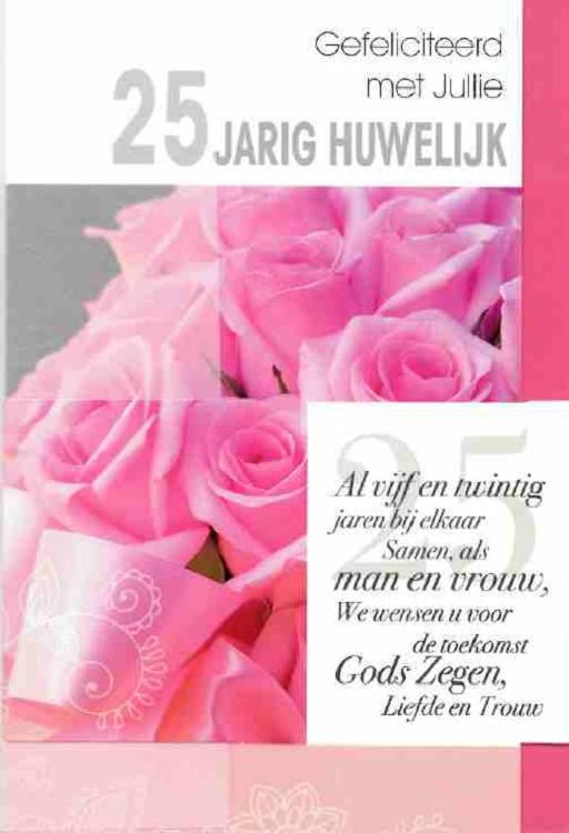 Beste 25 jaar getrouwd - Light Feelings (2801-2898) - blcwebshop HH-26
