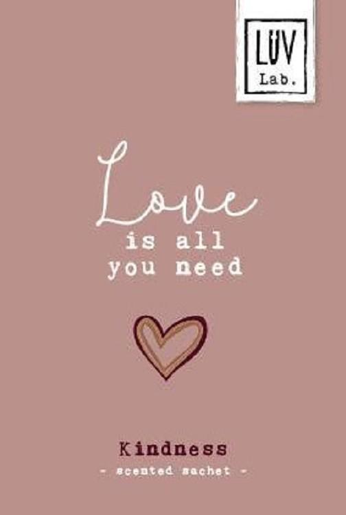 Geurzakje Love is all you need