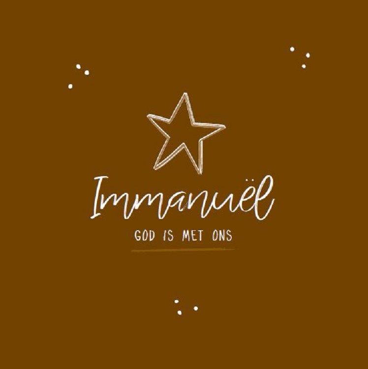 Immanuël God is met ons