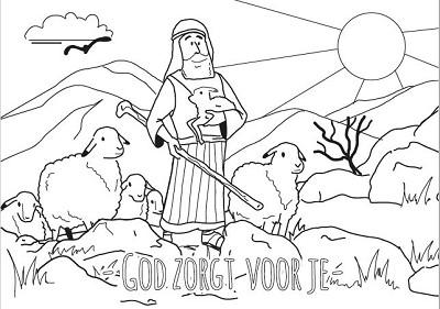 Kleurkaart God zorgt voor je