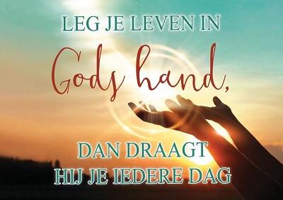 Aan de hand van God