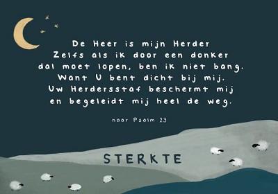 Sterkte De Heer is mijn Herder