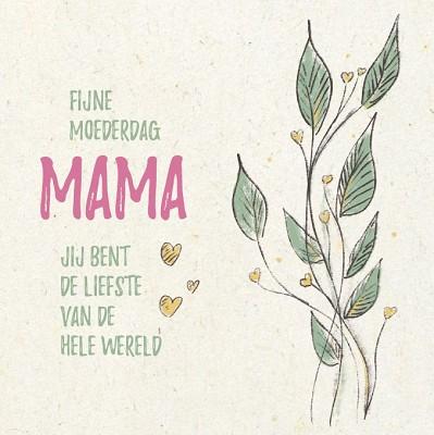 Fijne moederdag mama