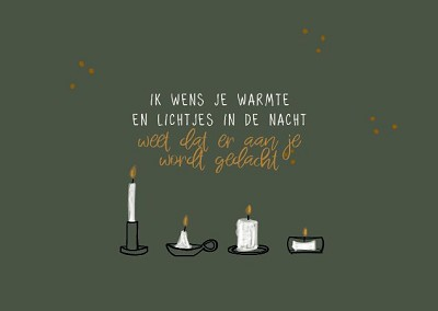 Ik wens je warmte